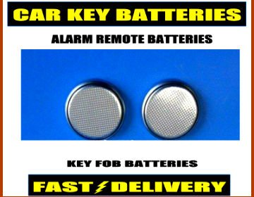 CR2032 Car Key Batteries CR2032 Alarm Remote Fob Batteries 2032