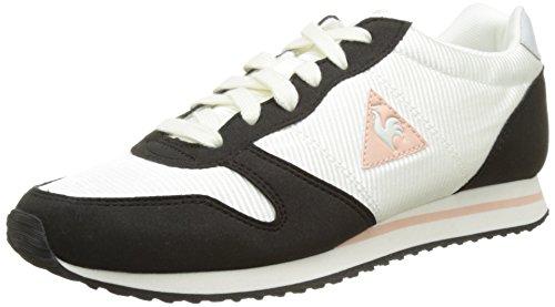 Le Coq Sportif Alice Sforwardslashnylon, Scarpe da Ginnastica Basse Donna Bianco (Marshmallow/Black/Ro)
