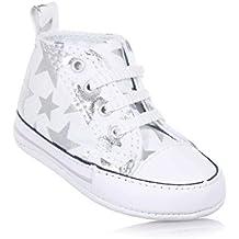 CONVERSE zapatillas de deporte de las estrellas de plata de alta cuna 856850C CTAS primera estrella