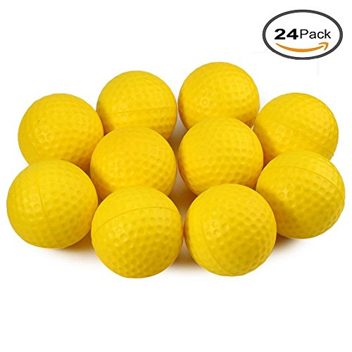 Kofull Golf éponge en mousse PU Balles de golf Pratiquer Intérieur ou extérieur Practise Training...