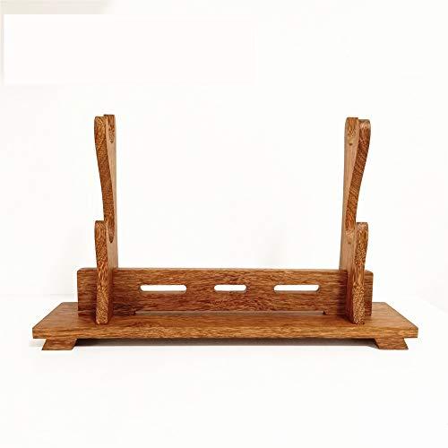 Shuli, supporto in legno per spada samurai katana wakizashi, supporto espositore per armi b