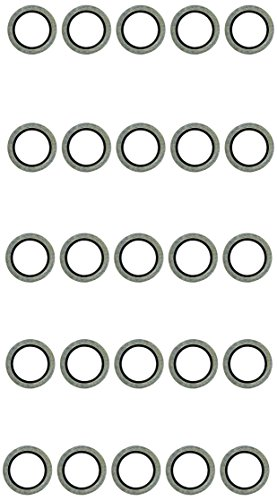 KS tools megu-sEAL avec zentrierlippe extérieur : 24 mm diamètre intérieur : 16 mm - 25 pièces - 430.2524