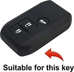KKRONAS Premium Silicon Key Cover for Maruti Suzuki Dzire/New Swift