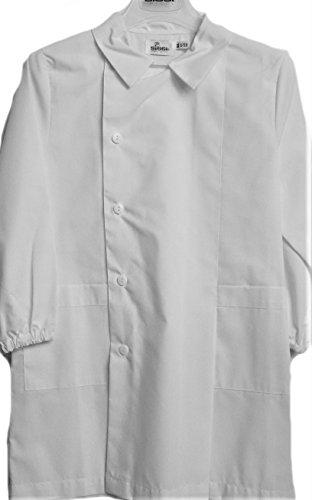 Grembiule siggi scuola maschio col bianco (12 anni - 152 cm)