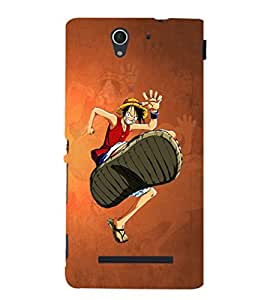 EPICCASE The Big Foot Mobile Back Case Cover For Sony Xperia C3 (Designer Case)