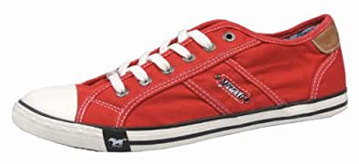 Mustang 4058-305-5, Sneakers Basses Homme, Rouge (Rot 5), 41 EU