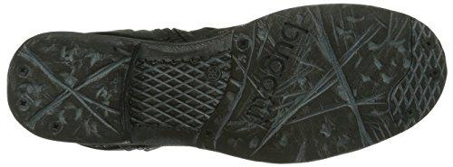 Bugatti J58311G Damen Biker Boots Schwarz (schwarz 100)