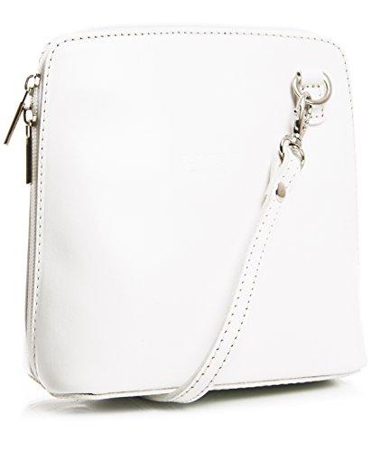 Big Handbag Shop, Borsa a tracolla donna One White