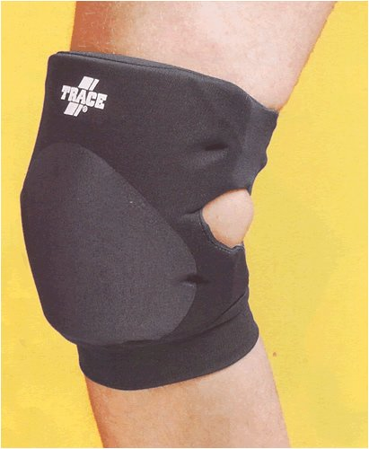 Trace 42000 Volleyball Knee Guard Scarlet Small (Knieschoner Trace)