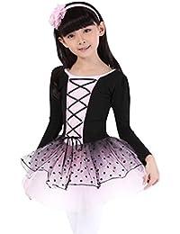 Geschenk-Idee! Pure Color Bow Design Mädchen- Größe 4-10 Langarm Trikot (lila / Rosa / Blau) , Preis / Stück