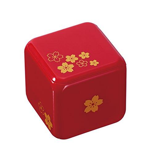 Karakuri box lacquer Red