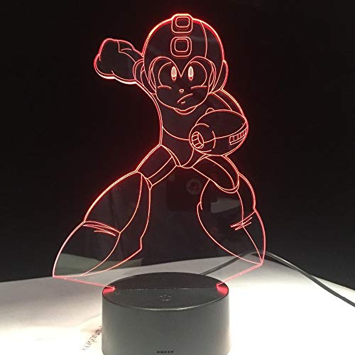 Kinder Geschenke Astro Boy Figur Spielzeug Anime Cartoon Astroboy 3D LED Nachtlicht Nachttischlampe Mit 7 Farben Kinder Geschenk Ping
