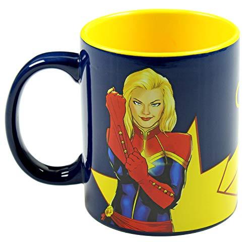 Captain Marvel Kaffeetasse, 325 ml Keramikbecher