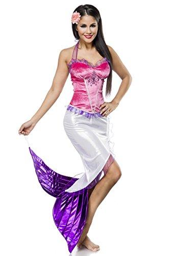 Sexy Meerjungfraukostüm Meerjungfrau Kostüm Kleid Mermaid Mermaidkostüm Damenkostüm