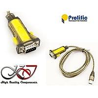 KALEA-INFORMATIQUE  - Cordon Convertisseur USB vers Serie RS-232 DB9 - LONGUEUR 1.5 M - CHIPSET PROLIFIC PL2303HX (12Mbps !) - COMPATIBLE WINDOWS 2000 / XP / VISTA / SEVEN / WINDOWS 8 / 8.1 / 10