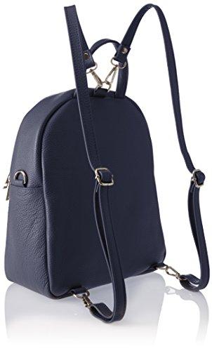 Chicca Borse 8702 1, Borsa a Zainetto Donna, 28x32x15 cm (W x H x L) Blu (Blue)