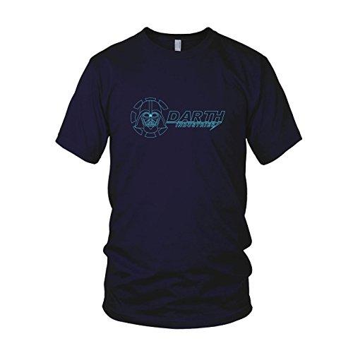 Darth Industries - Herren T-Shirt, Größe: XXL, dunkelblau