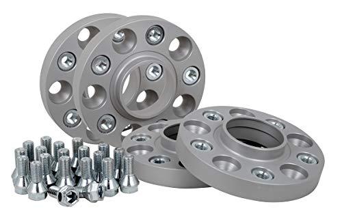 Spurverbreiterung Aluminium 4 Stück (20 mm pro Scheibe / 40 mm pro Achse) inkl. TÜV-Teilegutachten -