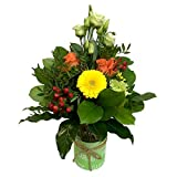 Versandkostenfrei Blumenstrauß Ich denk an dich mit Vase Blumenversand