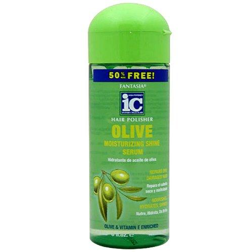 IC Fantasia Olive Moisturizing Shine Serum Hair Polisher by Famtasia IC - Fantasia Ic Hair Polisher Olive