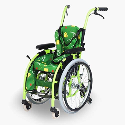 Rollstuhl Manueller Faltbar Leicht Selbstfahrend, Kinderrollstuhl, Aluminiumrollstuhl