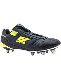 Kooga Rugby botas relampago LCST Junior multicolor negro/amarillo Talla:talla 5