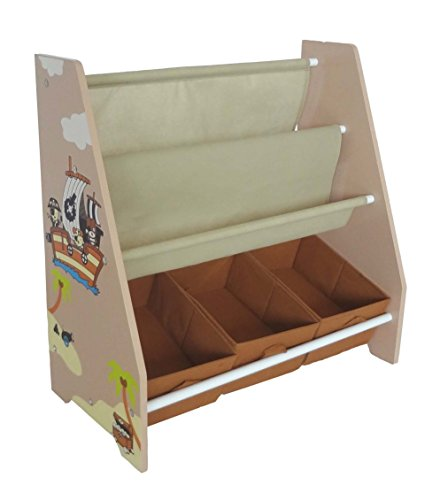 bebe-style-childrens-pirate-wooden-storage-rack-sling-bookcase