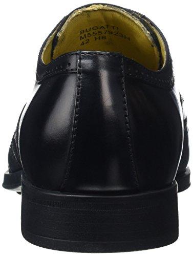 Steptronics Bugatti, Chaussures à Lacets Homme Noir (noir)