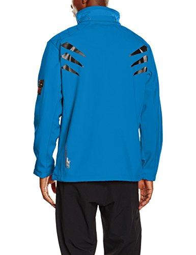Geographical Norway Telepherique Men, Blouson Homme Bleu (BLUE)