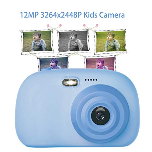 Gb-20 Digitalkamera (Kinder Kamera, CHshe Kinderkamera 2,0 Zoll Screen 12Mp Hd Digitale Kinder Kamera Mini Camcorders Mit Usb Kabel Und Hängendes Seil, Spielzeug Geschenk Für Kinder)