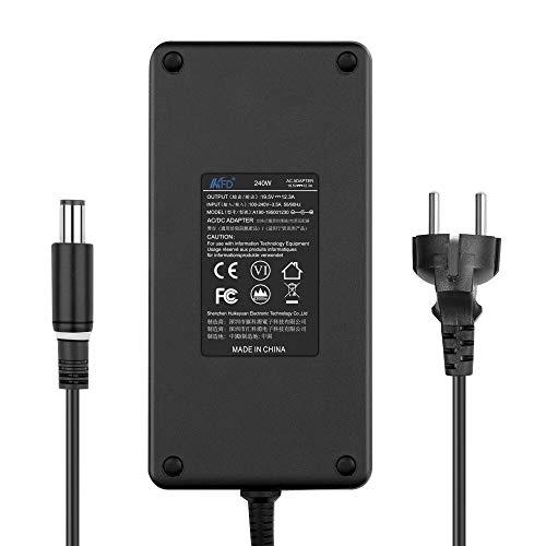 KFD AC Adapter Ladegerät Netzteil 240W für Dell Alienware M17X R2 R3 R4 M18X PA-9E Dell Precision M6500 M6400 M4700 M6600 M6700 M6800 0J211H 0J938H FWCRC 330-4342 330-7843 ADP-240AB 19,5V 12,3A