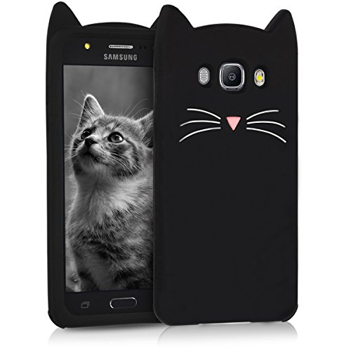 kwmobile Samsung Galaxy J5 (2016) DUOS Cover - Custodia in silicone TPU - Copertina protettiva Back Case Backcover per Samsung Galaxy J5 (2016) DUOS