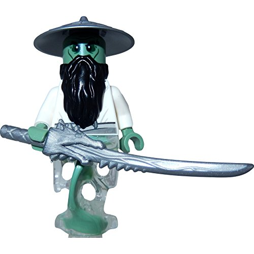 LEGO Ninjago Minifigur Master Yang mit GALAXYARMS Schwert