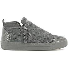54404f18e1 Scarpe Donna Sneakers Nero con Brillantini - Cafenoir, 37, Nero