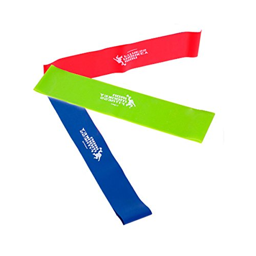 Frcolor elastici fitness colorati 3pcs