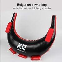 Power Sandbags 5-20KG Bolso Búlgaro - Bolso De Arena De Boxeo Vacío Duradero De Cuero PU Ideal Para Entrenamiento Pesas   Fitness   Entrenamiento   Crossfit   Ejercicio De Entrenamiento Pesado Y Lleno