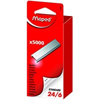 Maped 324401 - Grapas (24/6, 5000 unidades)