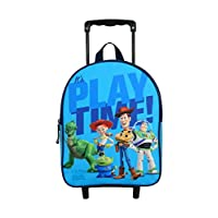 Bagtrotter TOYNI04TIME Toy Story Backpack Trolley, Size-25 x 11 x 31 cm, Colour-Blue