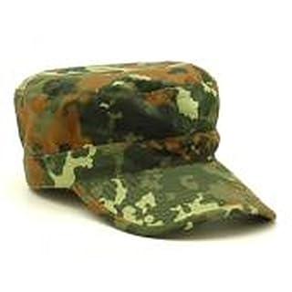 A. Blöchel US Army Outdoor BDU Feldmütze aus stabilem Ripstop Cappie Sportcappie Kappe Größen - Das Sommer MustHave (XL, Flecktarn)