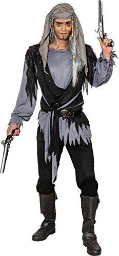 Orlob Herren Kostüm Gothic Geister Pirat Karneval Halloween Gr.50/52