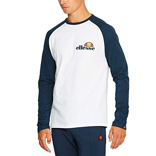 ellesse Langarm T-Shirt Thero Ls Weiß M (Medium)