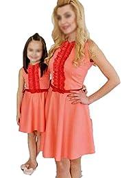 Vestiti Eleganti Mamma E Figlia.Amazon It Madre E Figlia Abbigliamento