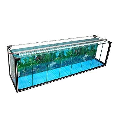Komplettset Aquarium Zucht-Becken Betta 38 L, Garnelen-, Aufzucht-, Kampffisch-Aquarium inkl. LED-Lampe,Luftpumpe, Heizstab