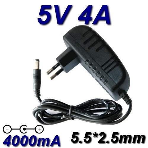TOP CHARGEUR * Netzteil Netzadapter Ladekabel Ladegerät Output Ausgang DC 5V 4A 4000mA 20W CE Zertifizierung Stecker: 5.5mm * 2.5mm ersetzt 5V 1A / 1.5A / 2A / 2.5A / 3A / 3.5A / 4A -