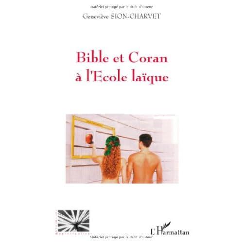 Bible et Coran à l'école laïque