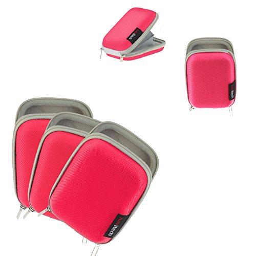 Navitech rosa fall für HANK True Wireless Earbuds HKBT208 (Earbuds Rosa Wireless)