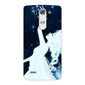 Neo World White Fairy Back Case Cover for Lg G3 Mini