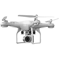 quadcopter drone camara wifi Sannysis drones con camara y pantalla profesional baratos color blanco
