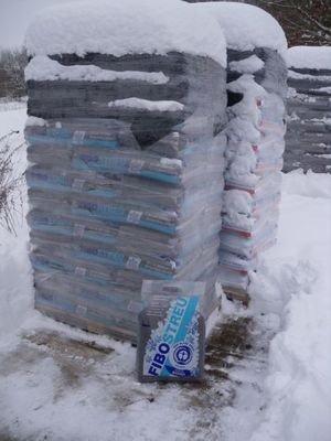 Fibostreu 36x 50 Liter Winterstreu Streugranulat Salzfrei