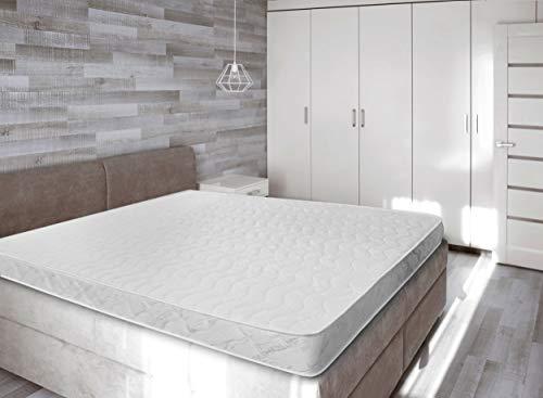 Baldiflex - materasso matrimoniale easy aloe small 160 x 190 cm - rivestimento aloe vera proprieta' naturali